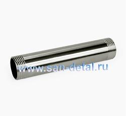 """Бочонок 1"""" х 150 мм из нержавеющей стали"""