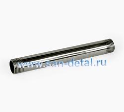 """Бочонок 1/2"""" х 150 мм из нержавеющей стали"""