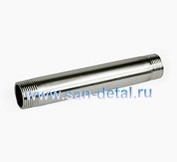 """Бочонок 3/4"""" х 150 мм из нержавеющей стали"""
