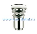 Донный клапан «квадрат» с переливом