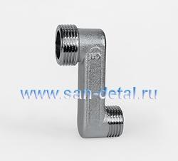 """Эксцентрик переходный 3/4"""" нр - 1/2"""" нр 50 мм"""