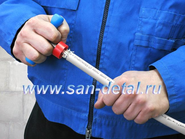 Калибратор для металлопластиковых труб своими руками