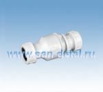 Обратный клапан с функцией сухого сифона