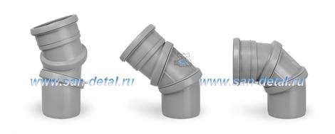 Отвод 110 ø с регулируемым углом 0-90°