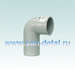 Отвод сифонный 40 ø на манжету 40 мм