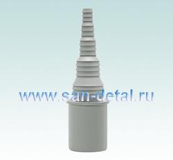 Переходник 32 ø со штуцером 8-25 мм для слива
