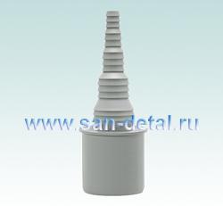 Переходник 40 ø со штуцером 8-25 мм для слива