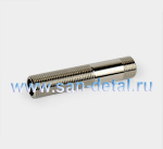 "Сгон 1/2"" х 100 мм никель"