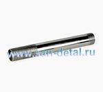 """Сгон 1/2"""" х 150 мм из нержавеющей стали"""