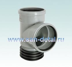 Тройник-восстановитель раструба 110/110 ø 90°