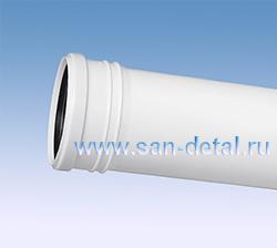 Труба канализационная 110 ø /250 мм белая