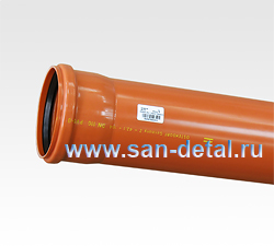 Труба канализационная 110 ø /1000 мм
