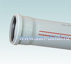 Труба канализационная 110 ø /500 мм