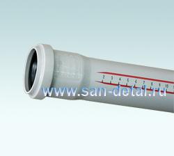 Труба канализационная 50 ø /2000 мм