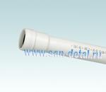 Труба канализационная 32 ø /250 мм белая