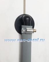 Угловой переходник 50 ø со штуцером 19-21 мм для слива