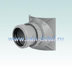 Врезка 50 ø в канализацию 90-110 мм
