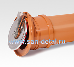Выпускной обратный клапан 160 ø